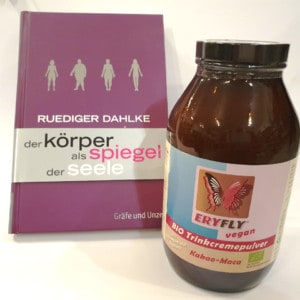 Kombi-Angebot: Buch + Eryfly BIO Trinkcremepulver 560g