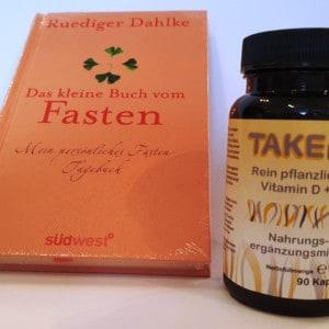 Kombi-Angebot: Fastentagebuch + TAKEme Vitamin D + K (90 Kapseln)