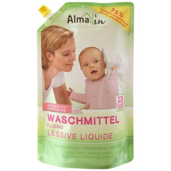 AlmaWin - Waschmittel im Ökopack, 1,5 Liter
