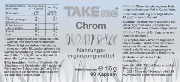 TAKEme Chrom (Kapseln)