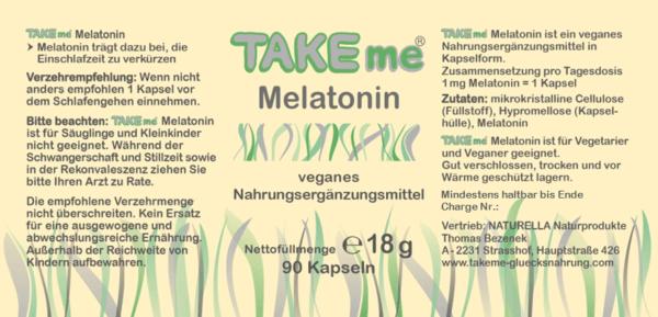 TAKEme Melatonin (Kapseln)