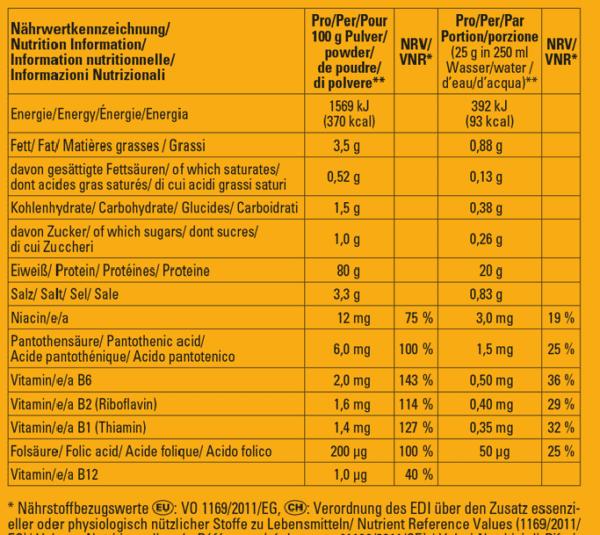 inkospor Active Proteinpulver - Geschmack Vanille - 450g