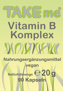 TAKEme Vitamin B Komplex (Kapseln)